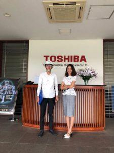 Chuyến thăm và làm việc tại nhà máy toshiba cùng đoàn HAMME