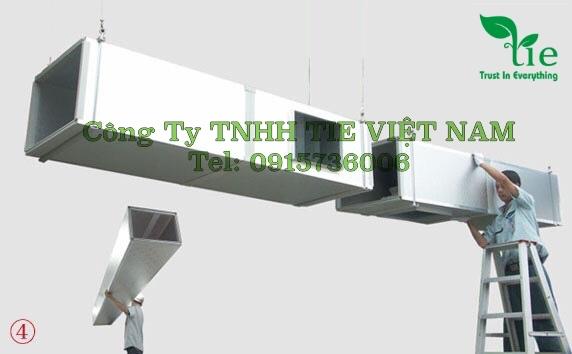Hệ thống thông gió và máy làm mát công nghiệp nhà xưởng