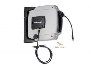 Data Cable Reel D20Bền: Được làm bằng vật liệu hợp chất chống chịu và các thành phần có chất lượng cao. An toàn: trang bị lò xo và linh kiện điện tử được bảo vệ đúng cách để sử dụng và bảo dưỡng an toàn. Thông minh: được thiết kế để dễ dàng kết nối cáp. Ổn định: Cáp ethernet Cat7 mang lại sự ổn định cho việc truyền dữ liệu. Chứng nhận: theo Chỉ thị cuộn cáp công nghiệp SS-EN 61316. Data Cable Reel D20 đã được thiết kế để chịu được việc sử dụng nhiều trong các môi trường như xưởng xe, phòng thí nghiệm phần cứng, trung tâm dữ liệu, trong số những người khác. Sản phẩm thuộc Nederman Sản xuất tại Thuỷ Điển Bảo hành 10 năm.
