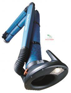 """Extraction Arm NEX MDExtraction Arm NEX MD là đỉnh của phạm vi các cánh tay khi nói đến luồng không khí cao và trích xuất phương tiện có nhiệt độ cao hơn bình thường. Nederman NEX MD là một cánh tay hút bụi hàn và hàn cũng có một nắp che miệng với thiết kế mới. Vòi, đường kính 160 mm (6,3 """"), kết hợp với hệ thống cánh tay ngoài, cung cấp luồng không khí cao và giảm áp suất thấp. Nederman NEX MD vì thế hoàn hảo trong các ứng dụng trung bình đến nặng. Cánh tay có sẵn trong bốn chiều dài, 2-5 m (6,6-16 ft). Cánh tay được treo bằng một khớp xoay mạnh mẽ, cho phép sản phẩm xoay 360 độ. Extraction Arm NEX MD được thiết kế đặc biệt cho môi trường làm việc với khói rất nặng, hơi hoặc bụi không nổ. Nơi làm việc điển hình là ngành công nghiệp chế tạo kim loại hoặc các loại ngành công nghiệp khác, nơi cần khai thác với luồng khí lớn. Các ứng dụng có thể là hàn, cắt laser hoặc cắt plasma bằng tay, phun kim loại, mài ở nơi tạo ra nhiều vết loang hoặc các quy trình công nghiệp khác, nơi cần có một nhánh chiết cân bằng hoàn hảo và dễ dàng định vị. Bảo hành 1 năm. Xuất xứ Thụy Điển."""