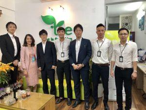 TỔNG GIÁM ĐỐC và  CEO  nhà máy sản xuất dầu nhớt HOKOKU OIL NHẬT BẢN đến thăm và làm việc tại TIE VIỆT NAM