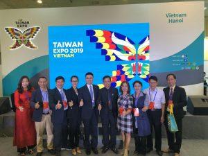 TIE VIỆT NAM tham gia hội chợ Triển lãm Thương mại sản phẩm Đài Loan!