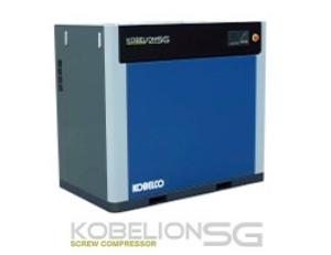 KOBELION SG SERIES:Công suất: 15 kW- 75kWLưu lượng khí xả: 1.86 – 13.5 m /phútLoại máy: Trục vít ngâm dầu Khởi động: Sao tam giácKOBELION SGV SERIES:Công suất: 15 kW- 75kWLưu lượng khí xả: 2.9 – 14.6 m /phútLoại máy: Trục vít ngâm dầuKhởi động: Biến tần ( Inverter)