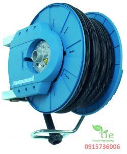 Hose reel Series 881 Ex ống hút cuộn mềm công nghiệp MIỄN PHÍ DÙNG THỬ- MIỄN PHÍ GIAO HÀNG- MIỄN PHÍ LẮP ĐẶTCuộn được trang bị bộ giảm xóc tự động mở và đóng khi vòi được vận hành vào/ra. Cuộn dây cũng được gắn một công tắc siêu nhỏ báo hiệu cho bộ phận hút bụi để bắt đầu/dừng khi vòi được vận hành vào/ra. Cuộn dây hose reel được làm 100% từ cao su có độ dẫn nhiệt. Chiều dài cuộn ống mềm: 10m. Bảo hành: 10 năm - Nhập khẩu THUỴ ĐIỂN