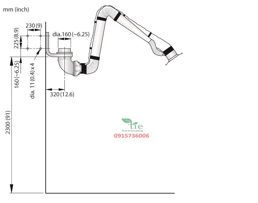 Extraction Arm NEX D