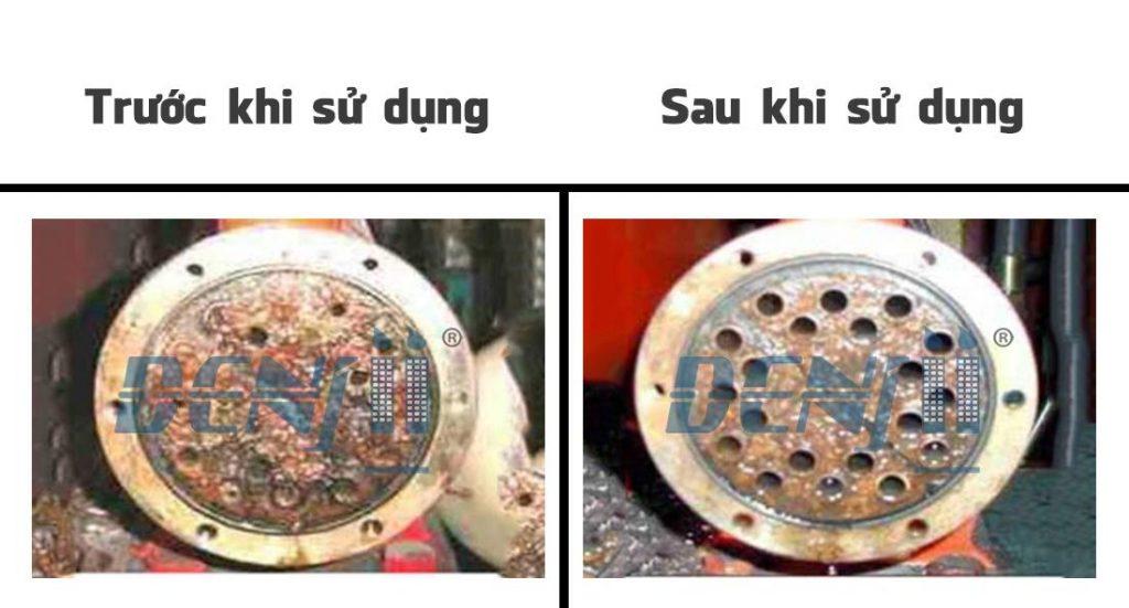 xử lý cáu cặn công nghiệp